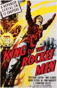King of the Rocketmen - 43 x 62 Movie Poster - Bus Shelter Style A