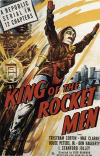 King of the Rocketmen - 11 x 17 Movie Poster - Style D
