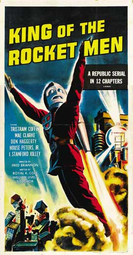 King of the Rocketmen - 27 x 40 Movie Poster - Style D