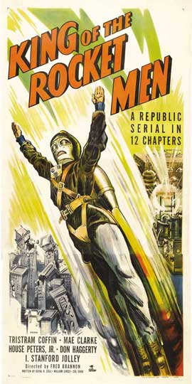 King of the Rocketmen - 20 x 40 Movie Poster - Style A