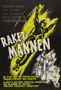 King of the Rocketmen - 27 x 40 Movie Poster - Swedish Style A