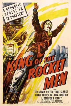 King of the Rocket Men - 27 x 40 Movie Poster - Style A