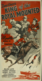 King of the Royal Mounted - 43 x 62 Movie Poster - German Style A
