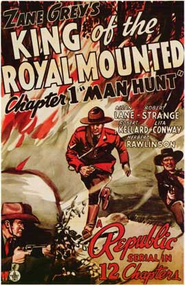 King of the Royal Mounted - 11 x 17 Movie Poster - Style A