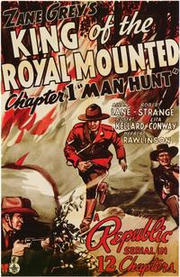 King of the Royal Mounted - 43 x 62 Movie Poster - Bus Shelter Style A