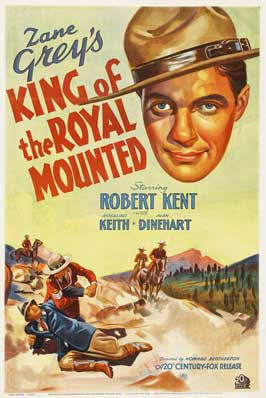 King of the Royal Mounted - 27 x 40 Movie Poster - Style B