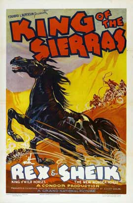 King of the Sierras - 11 x 17 Movie Poster - Style A