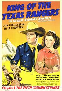 King of the Texas Rangers - 27 x 40 Movie Poster - Style A