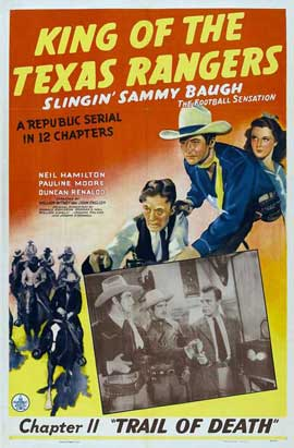 King of the Texas Rangers - 11 x 17 Movie Poster - Style B