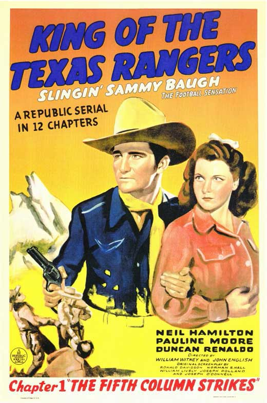 King Ranger Theater >> King of the Texas Rangers Movie Posters From Movie Poster Shop