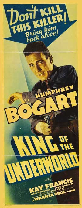 King of the Underworld - 14 x 36 Movie Poster - Insert Style A
