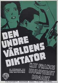 King of the Underworld - 27 x 40 Movie Poster - Swedish Style A