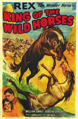 King of the Wild Horses - 11 x 17 Movie Poster - Style A