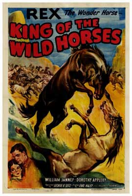 King of the Wild Horses - 27 x 40 Movie Poster - Style A