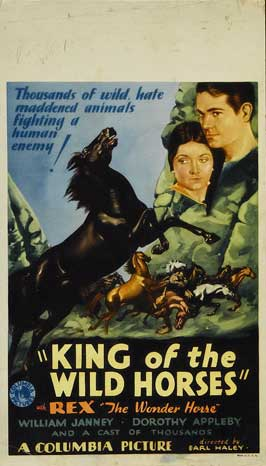 King of the Wild Horses - 11 x 17 Movie Poster - Style B