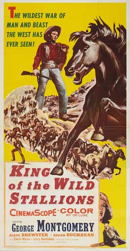 King of the Wild Stallions - 11 x 17 Movie Poster - Style A