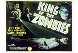 King of the Zombies - 11 x 14 Movie Poster - Style A
