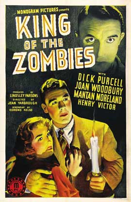 King of the Zombies - 27 x 40 Movie Poster - Style A