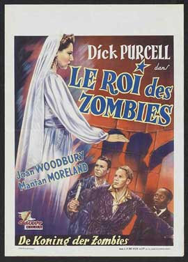 King of the Zombies - 11 x 17 Movie Poster - French Style A