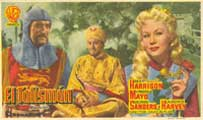 King Richard and the Crusaders - 27 x 40 Movie Poster - Spanish Style A