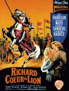 King Richard and the Crusaders - 11 x 17 Movie Poster - French Style A