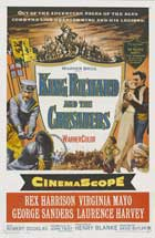 King Richard and the Crusaders - 20 x 40 Movie Poster - Style A