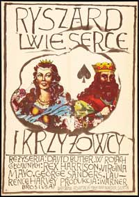 King Richard and the Crusaders - 11 x 17 Movie Poster - Polish Style A