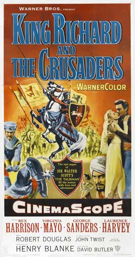 King Richard and the Crusaders - 27 x 40 Movie Poster - Style A