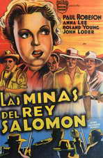 King Solomons Mines - 11 x 17 Movie Poster - Style B