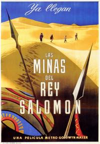 King Solomon's Mines - 11 x 17 Movie Poster - Spanish Style A