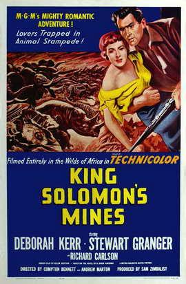 King Solomon's Mines - 27 x 40 Movie Poster - Style C