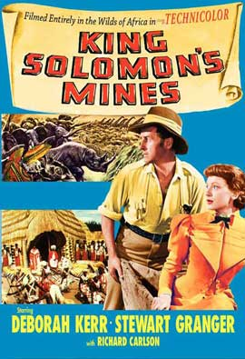 King Solomon's Mines - 11 x 17 Movie Poster - Style F