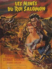 King Solomon's Mines - 11 x 17 Movie Poster - French Style B