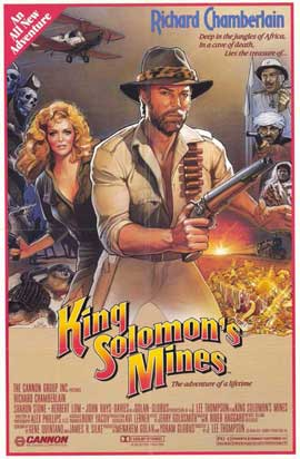 King Solomon's Mines - 11 x 17 Movie Poster - Style B