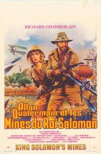 King Solomon's Mines - 11 x 17 Movie Poster - Belgian Style A