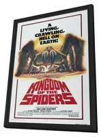 Kingdom of the Spiders - 11 x 17 Movie Poster - Style B - in Deluxe Wood Frame