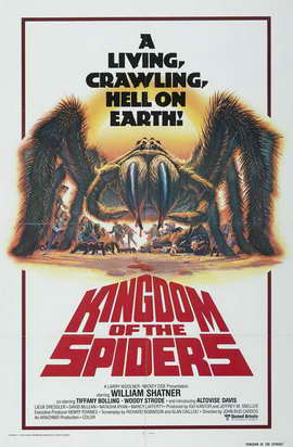 Kingdom of the Spiders - 11 x 17 Movie Poster - Style B