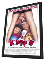 Kingpin - 11 x 17 Movie Poster - Style A - in Deluxe Wood Frame