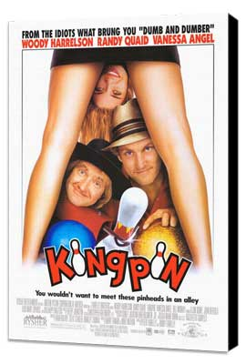Kingpin - 27 x 40 Movie Poster - Style A - Museum Wrapped Canvas