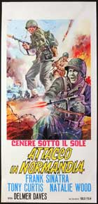 Kings Go Forth - 13 x 28 Movie Poster - Italian Style A