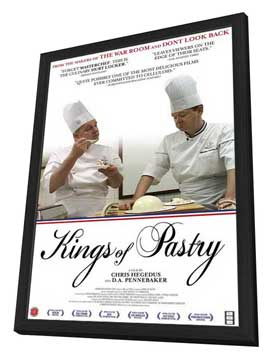 Kings of Pastry - 11 x 17 Movie Poster - Style A - in Deluxe Wood Frame