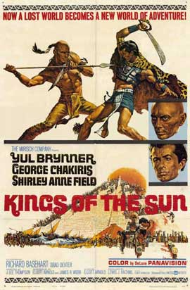 Kings of the Sun - 11 x 17 Movie Poster - Style A