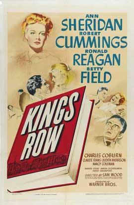 Kings Row - 27 x 40 Movie Poster - Style A