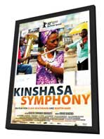 Kinshasa Symphony - 11 x 17 Movie Poster - German Style A - in Deluxe Wood Frame