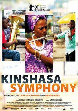 Kinshasa Symphony - 11 x 17 Movie Poster - German Style A
