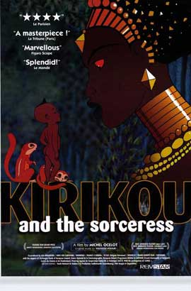 Kirikou and the Sorceress - 11 x 17 Movie Poster - Style A