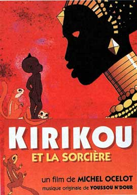 Kirikou and the Sorceress - 11 x 17 Movie Poster - French Style A