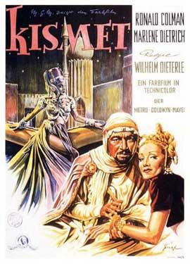 Kismet - 11 x 17 Movie Poster - German Style A