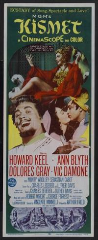 Kismet - 14 x 36 Movie Poster - Insert Style A