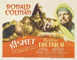 Kismet - 22 x 28 Movie Poster - Half Sheet Style A